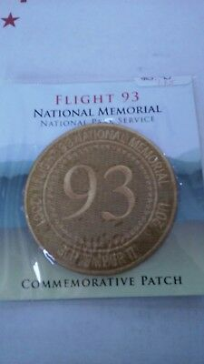 Flight 93 National Memorial Park Iron On 3 Inch Patch 9//11 September 11th NEW