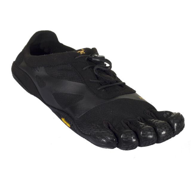 Vibram FiveFingers KSO EVO Barefoot Mens Black Sports Running Trainers Shoes