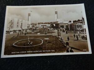 Scottish Avenue Empire Exhibition Scotland 1938 Postcard Glasgow - 38664