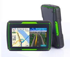 IPX7 Waterproof Bluetooth Motorcycle GPS Navigator ATV Wild for KAWASAKI Green