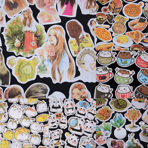 Korean-Diary-Label-Deco-Stickers-Cartoon-Cute-Scrapbooking-Books-DIY-Tags-FG