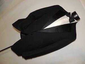 Hickey-Freeman-customize-men-039-s-vintage-formal-tuxedo-jacket-coat-42-Extra-Long