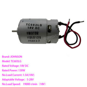 DC12V 15000 RPM RS-550 DC Motor High Power Available in UK