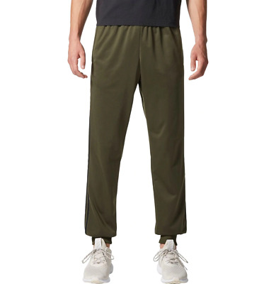 Adidas Men's Essential 3 Stripes R TRICOT Loose Sweat Pants