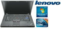 Lenovo Thinkpad T510 Intel i5 520M 2,4GHz 4GB 1TB SSD Windows 7 Webcam