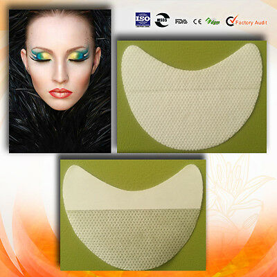 200 Pairs Under Eye Shadow Shields Patches Mascara Eyelash Guard Pads Protection