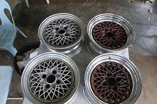 "JDM Speed Star Racing SSR Mesh 15"" rims wheels TA22 ae86 reverse pcd114.3X4"