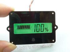 Digital LCD Indicator Battery Capacity Tester für 12V-48V Lead-acid Lithium LiPo