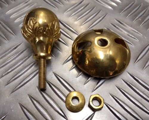 Genuine Royal Marines Issue Pith Helmet Ceremonial Ball Top Decoration Complete