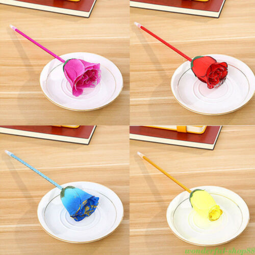 2Pcs Cute Couple Gel Pen Ballpoint Students Signing Pens Writing Stationery Gift