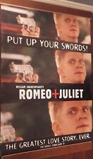 "40x60"" HUGE MOVIE SUBWAY POSTER~Romeo and Juliet 1996 ""Put Up Your Swords"" Rare~"