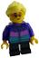 Lego fille avec lunettes taches de rousseur enfant minifigur personnage city cty0908 NEUF