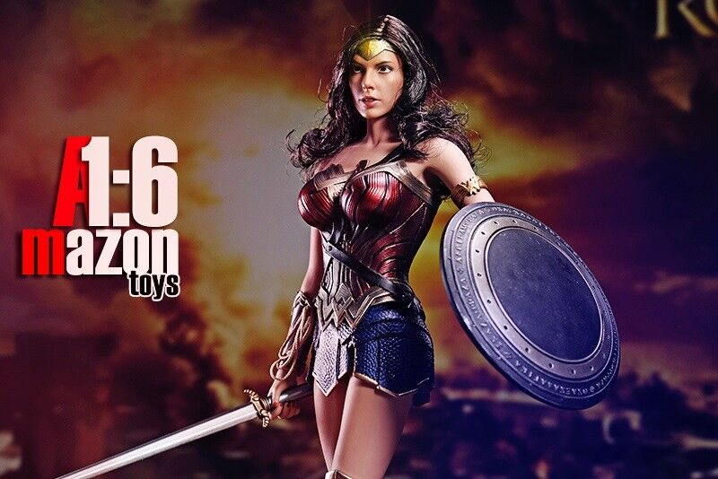 1 6 Scale Figure Movie Wonder Woman amazons AMtoys 1 6 Warrior Collection
