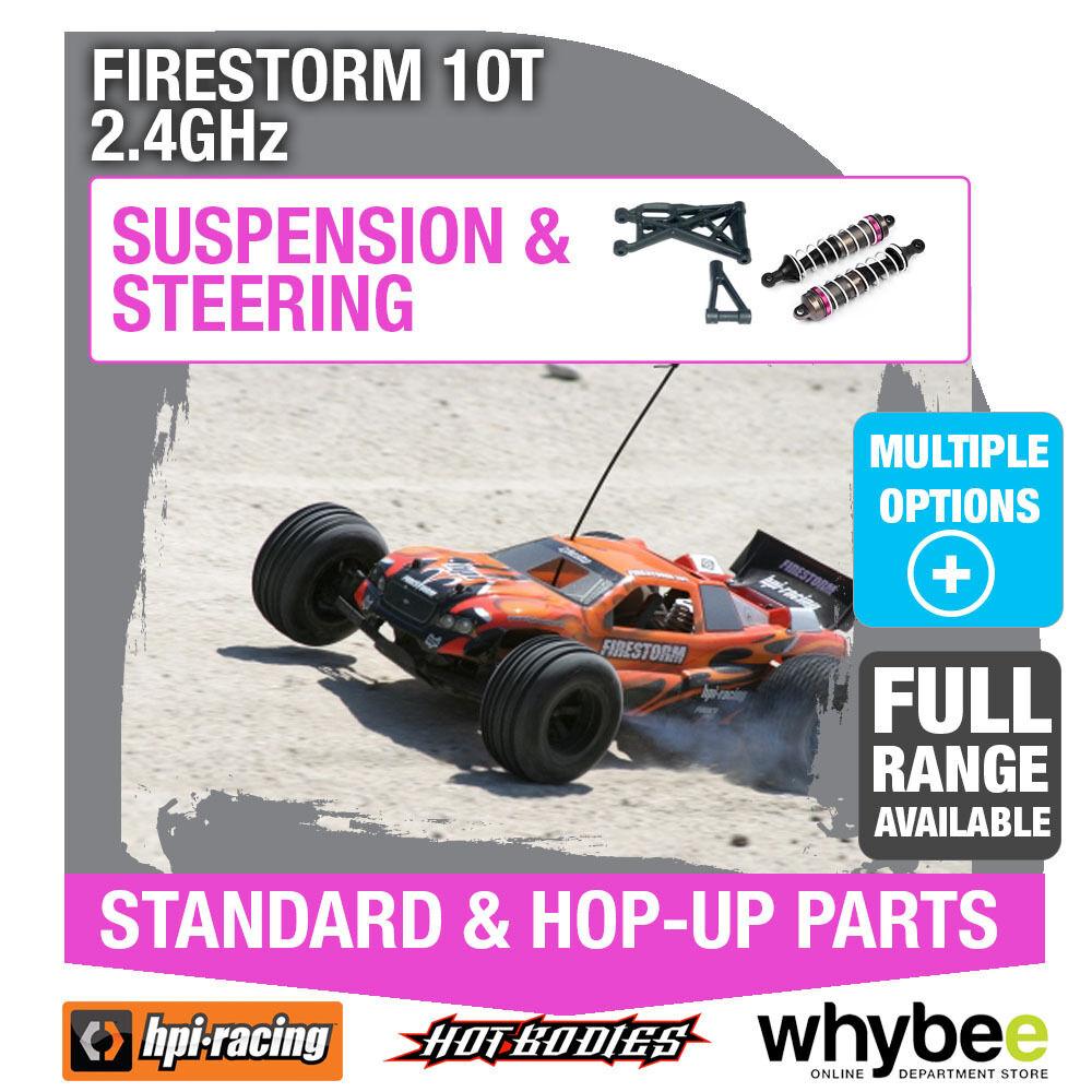 HPI FIRESTORM 10T 2.4GHz [Steering & Suspension] Genuine HPi Racing R C Parts