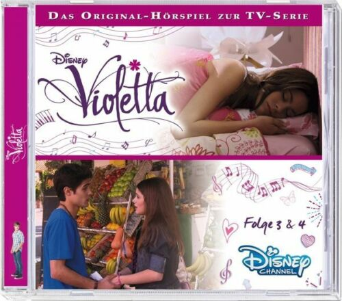 1 von 1 - Disney´s Violetta - Folge 3 & 4 - CD - Hörbuch / Hörspiel - *NEU*