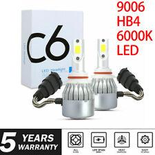 9006 Hb4 6000k Led White Headlight Bulbs Conversion Kit Lamp 1900w 285000lm
