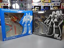 Transformers G1 Takara Reissue #22 Starscream E-Hobby Black + Clear Ghost Exclu.