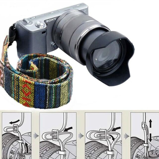 SLR DSLR Camera Shoulder Neck Strap Belt for Canon Nikon Pentax Sony