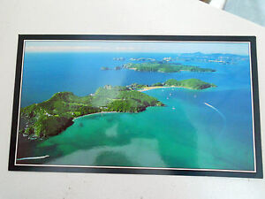Postcard-Roberton-Island-amp-Bay-of-Islands-New-Zealand-NEW-aerial-view-North-Is