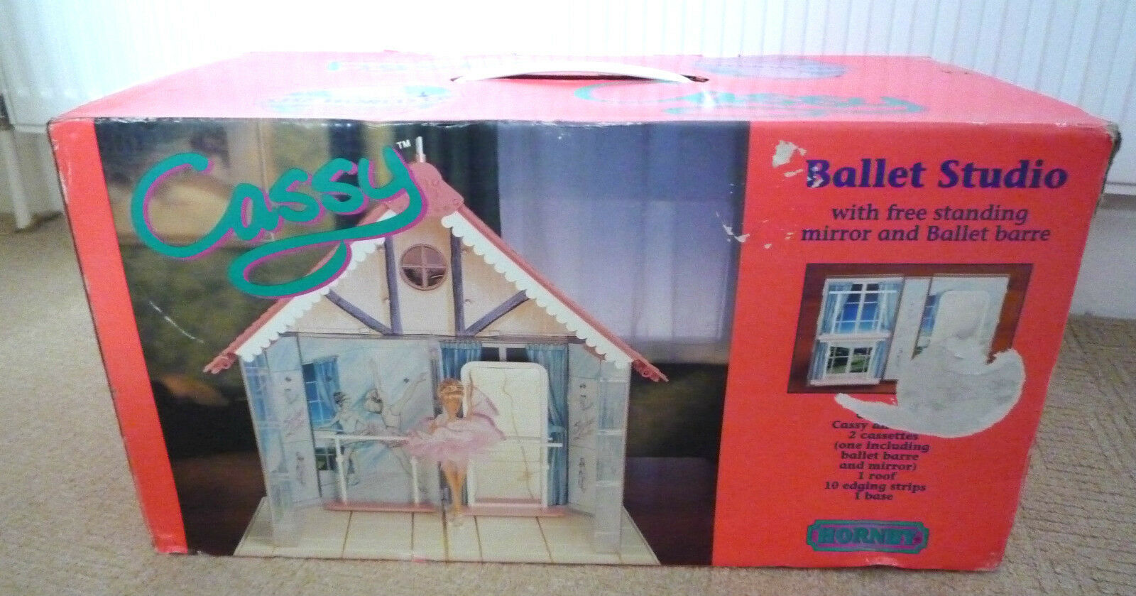 VINTAGE WORLD OF CASSY  BALLET STUDIO SET   BY HORNBY 1992 IN BOX   NEVER USED