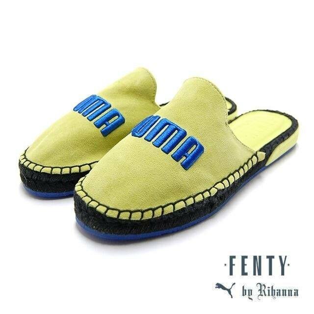 best website 44275 bea92 PUMA Fenty Women's Espadrilles Wns Sulphur Spring Blue Black by Rihanna