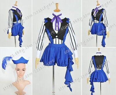 Black Butler: Book of Circus Cosplay Kostüme Ciel Phantomhive costume Blau Party