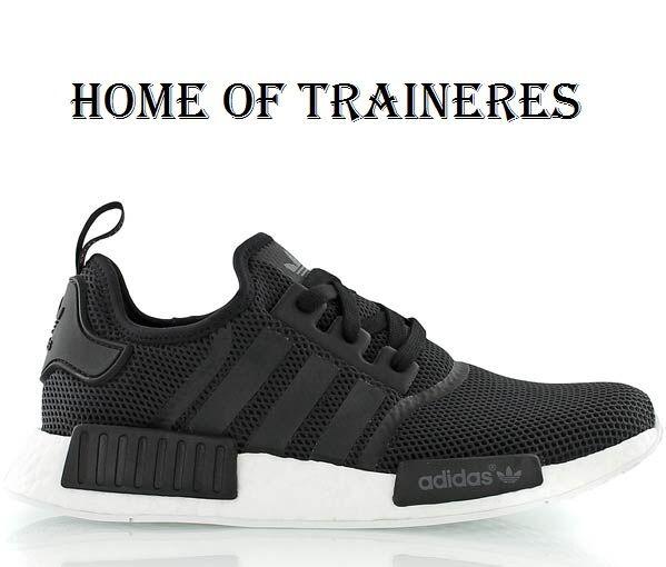 Adidas Originals NMD Runner Black White Monochrom Men's Trainer All Comfortable