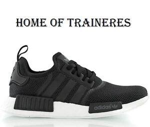 f4f0204c7a78 Image is loading Adidas-Originals-NMD-Runner-Black-White-Monochrom-Men-