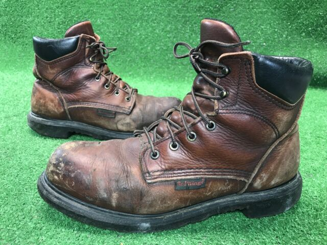 b15bc75e45d Red Wing 2406 Waterproof Leather BOOTS Men Size 15 Electrical Hazard Steel  Toe