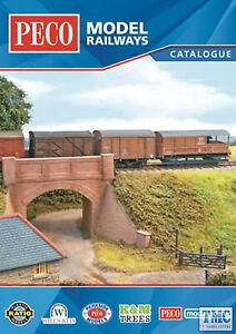 Analytique Cat-4 Peco Model Railways Catalogue 2018 Soyez Amical Lors De L'Utilisation
