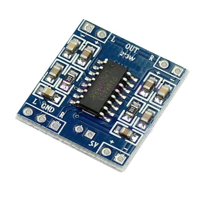Digital Power D Audio Amplifier Board Amplifier Module DC 5V 2 Channels 3W  New