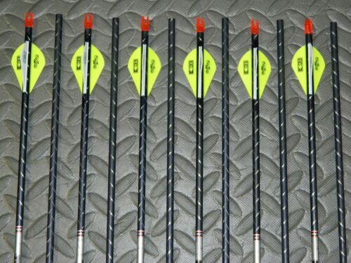 New 12 Easton FMJ 400 Spine 5mm Arrows Full Metal Jacket-10.2 GPI-Cut//Insert Av