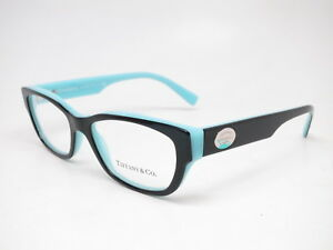 7eea895b13c Tiffany   Co TF 2172 Color Splash 8055 Black   Blue Eyeglasses 50mm ...