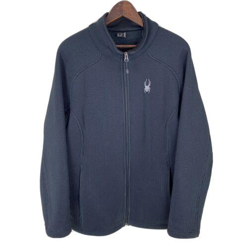 SPYDER Foremost Fleece Full Zip Black Jacket Sweat