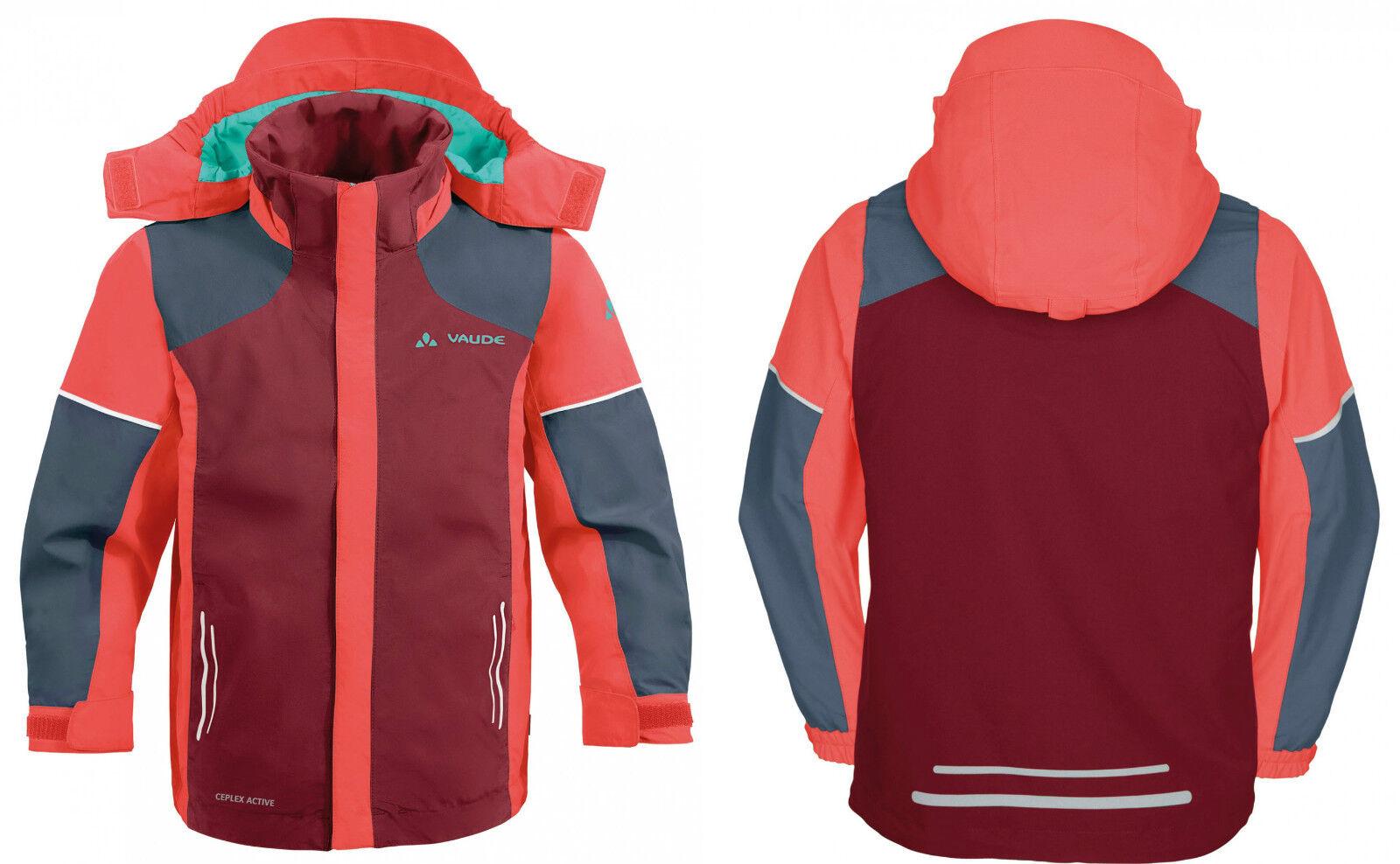 Vaude wetterfeste Outdoor Kinderjacke Kids Racoon Jacket III - Farbe Farbe Farbe lollipop 716d2c
