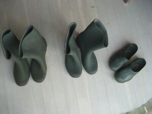 lot de 2 paires de botte et chaussure taille 40 et 41  pour le jardin d occasion
