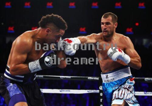 ANDRE WARD SERGEY KOVALEV Poster Fight Art Print Classic Boxing Canvas Sticker C