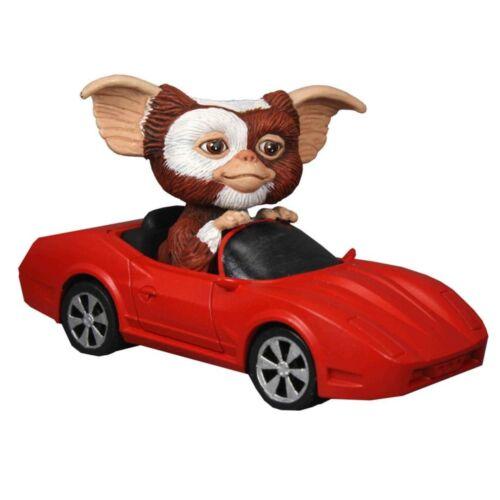 Pull back Gremlins Gizmo Mogwai Figur im Cabrio mit Motor GO GIZMO GO