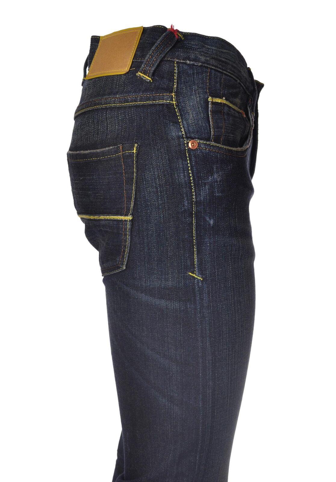 Care Label  -  Pantaloni - men - blue - 4503724A180749