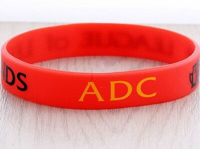 League of Legends LOL Silicone Colorful Theme Wristbands Bracelets Hand catenary