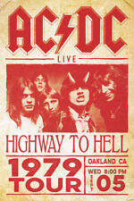 AC//DC Highway To Hell Wall Poster 24x36