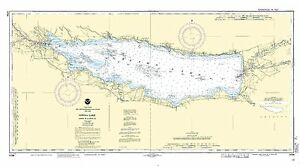NOAA Chart Oneida Lake - Lock 22 to Lock 23, 19th Edition 14788