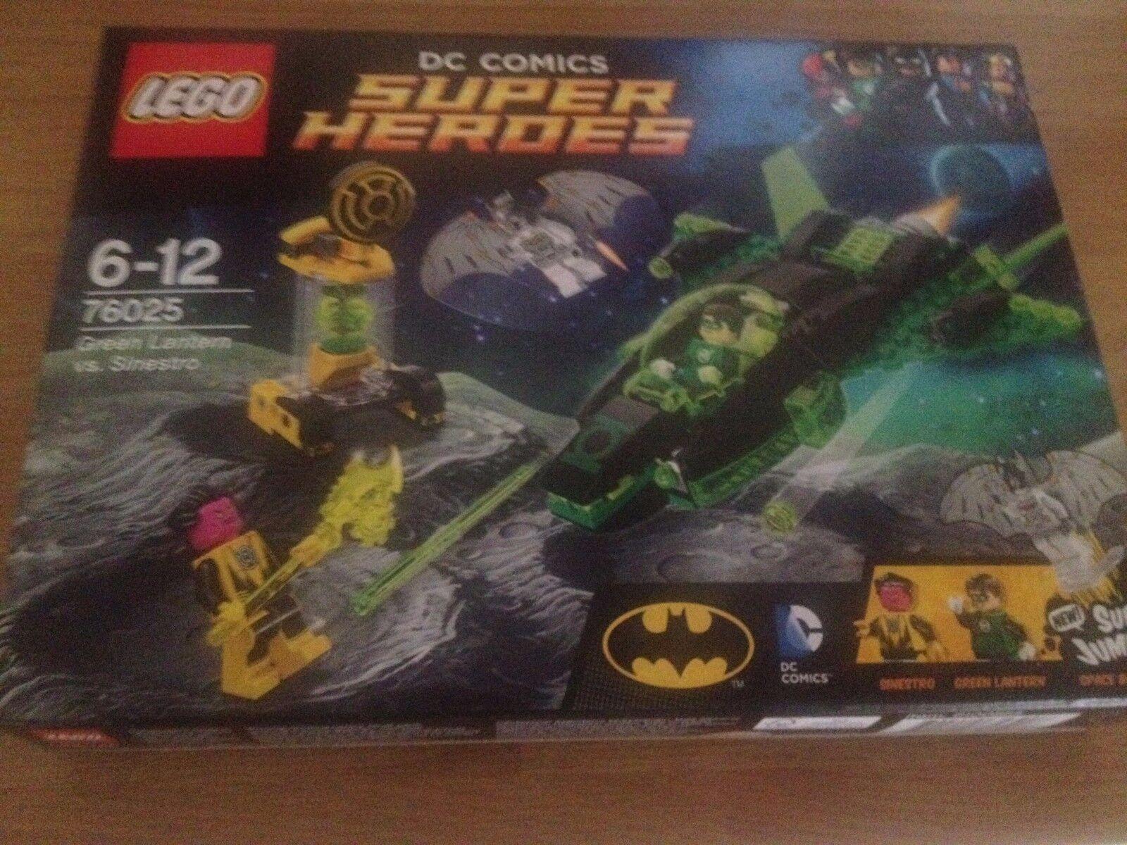 Lego DC SUPER HEROES  76025 Green Lantern vs. Sinestro Sinestro Sinestro  Brand new,factory sealed 45a661