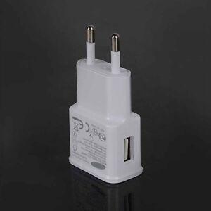 Weiß 2A USB Wand EU Plug Ladegeräte Adapter für Samsung Galaxy S S3 S4 S5 S6 S7