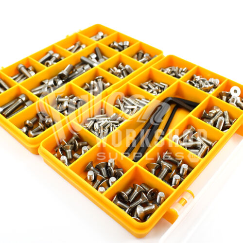 343 ASSORTED A2 STAINLESS STEEL M4-M6 BOLT SCREW BAHCO MULTIBIKE POCKET TOOL KIT