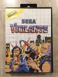 Vigilante-Sega-Master-System-1988-Complete-w-Case-amp-Manual