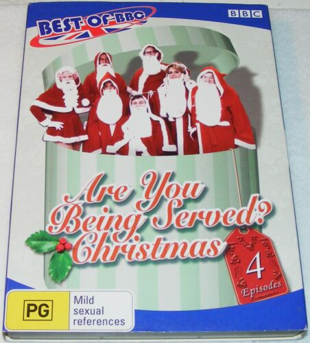 1 of 1 - ARE YOU BEING SERVED CHRISTMAS---(Dvd)
