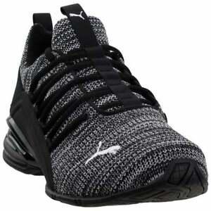 Puma-Momenta-Casual-Training-Shoes-Black-Mens