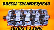 GM SUZUKI 1.3 1.6 SOHC 8 VALVE SIDEKICK SAMURAI CYLINDER HEAD EFI REMAN NO CORE