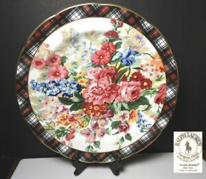 Ralph-Lauren-China-HAMPTON-FLORAL-Dinner-Plate-s-Mint